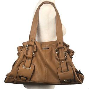 Vittorio Soft Leather Satchel Shoulder Bag